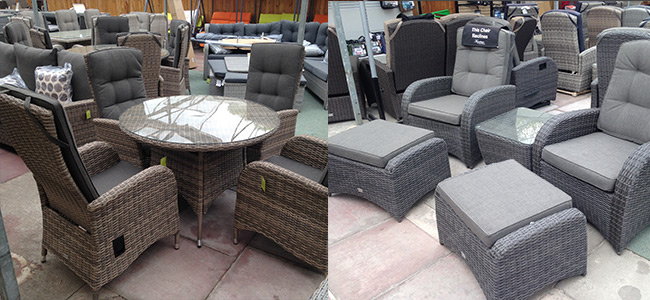 The Range Of Reclining Garden Furniture Available